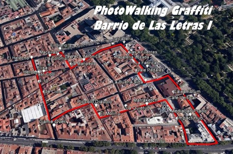 PhotoWalking Las Letras I