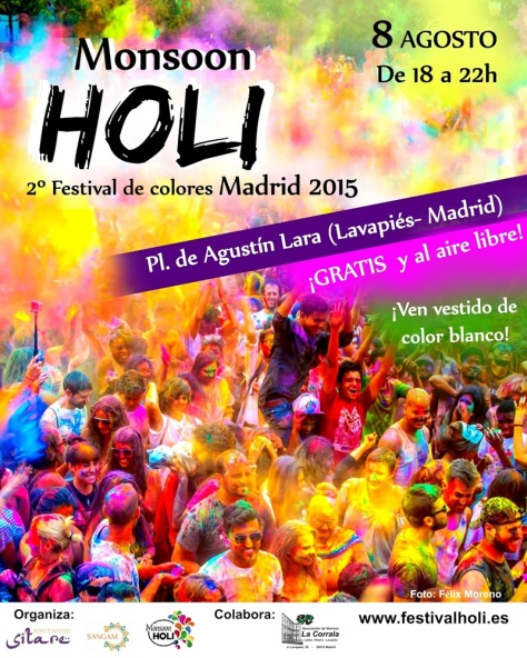 Holi madrid - Monsoon-holi-madrid-2015