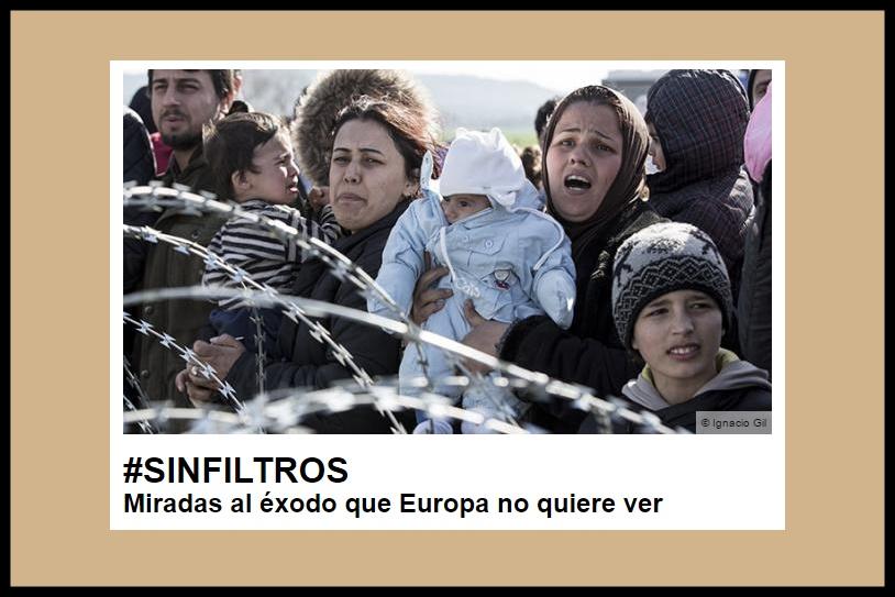 Resultado de imagen de exposición matadero refugiados