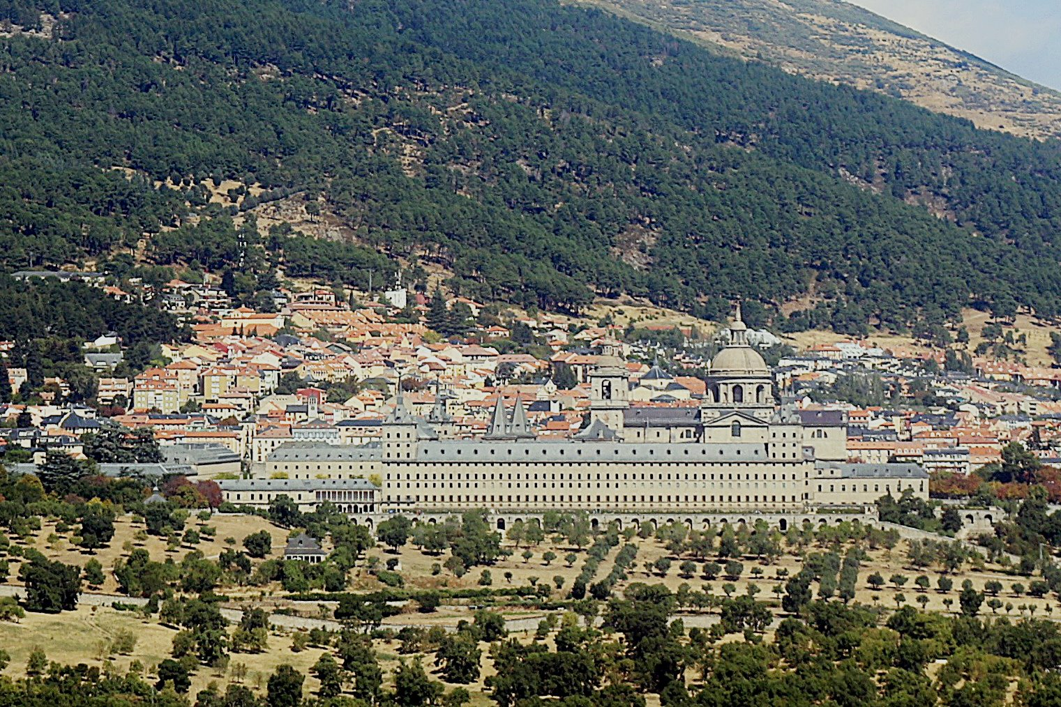 excursion el escorial primavera