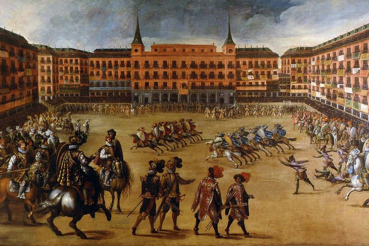 plaza mayor barroca