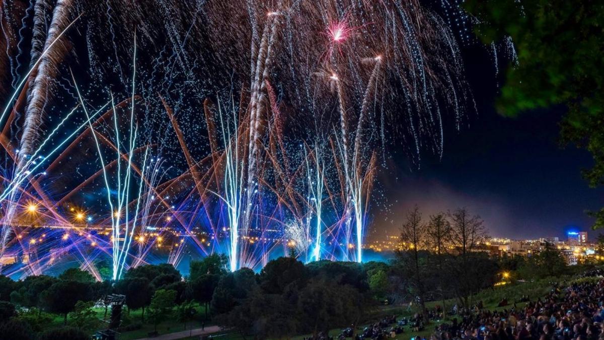 fuegos artificiales 2019 san isidro