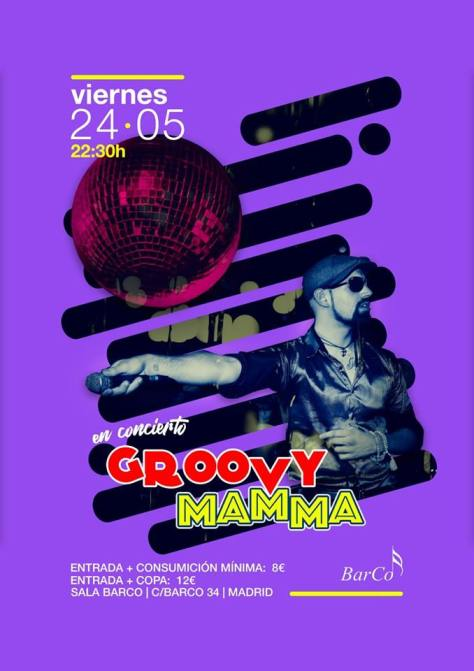 groovy mama en concierto