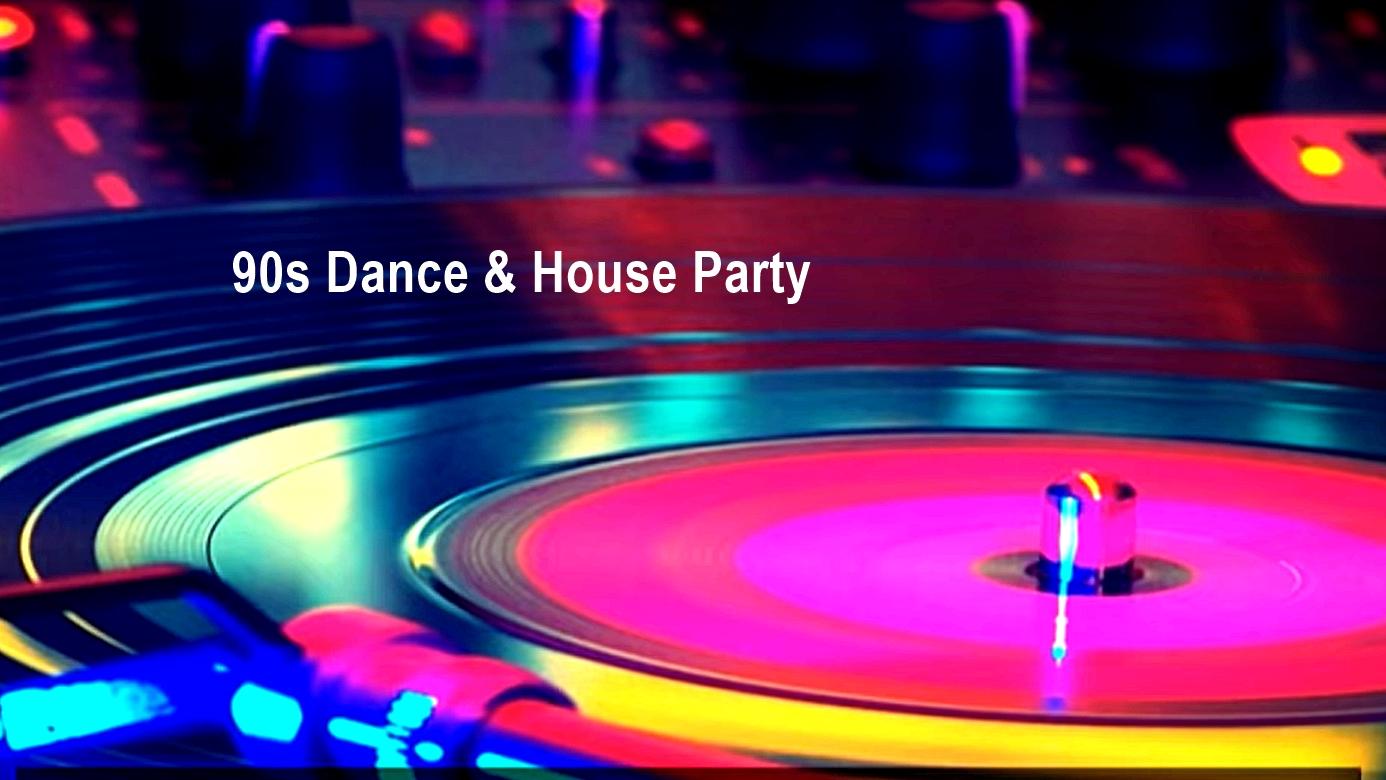 90s dance house party - Las experiencias Happening del puente de diciembre 2019