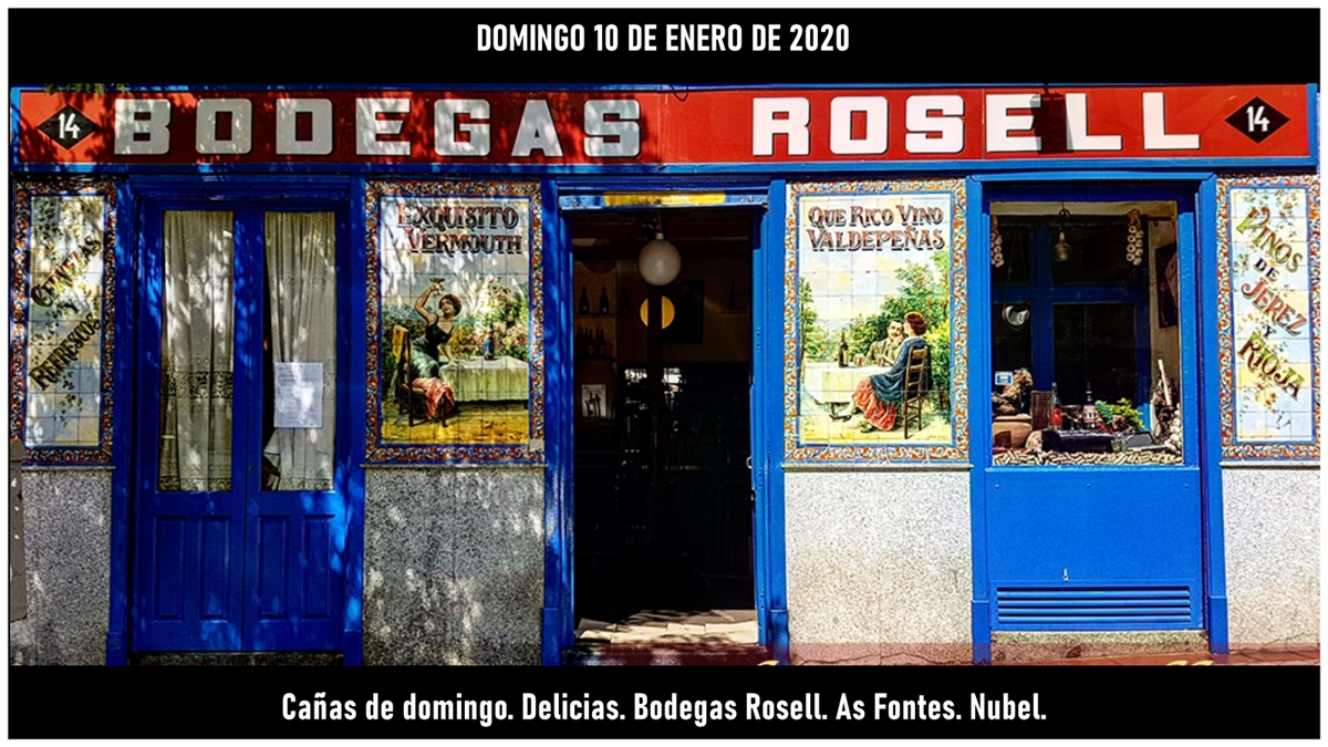 bodegas rosell - Ya llega el segundo finde 2020