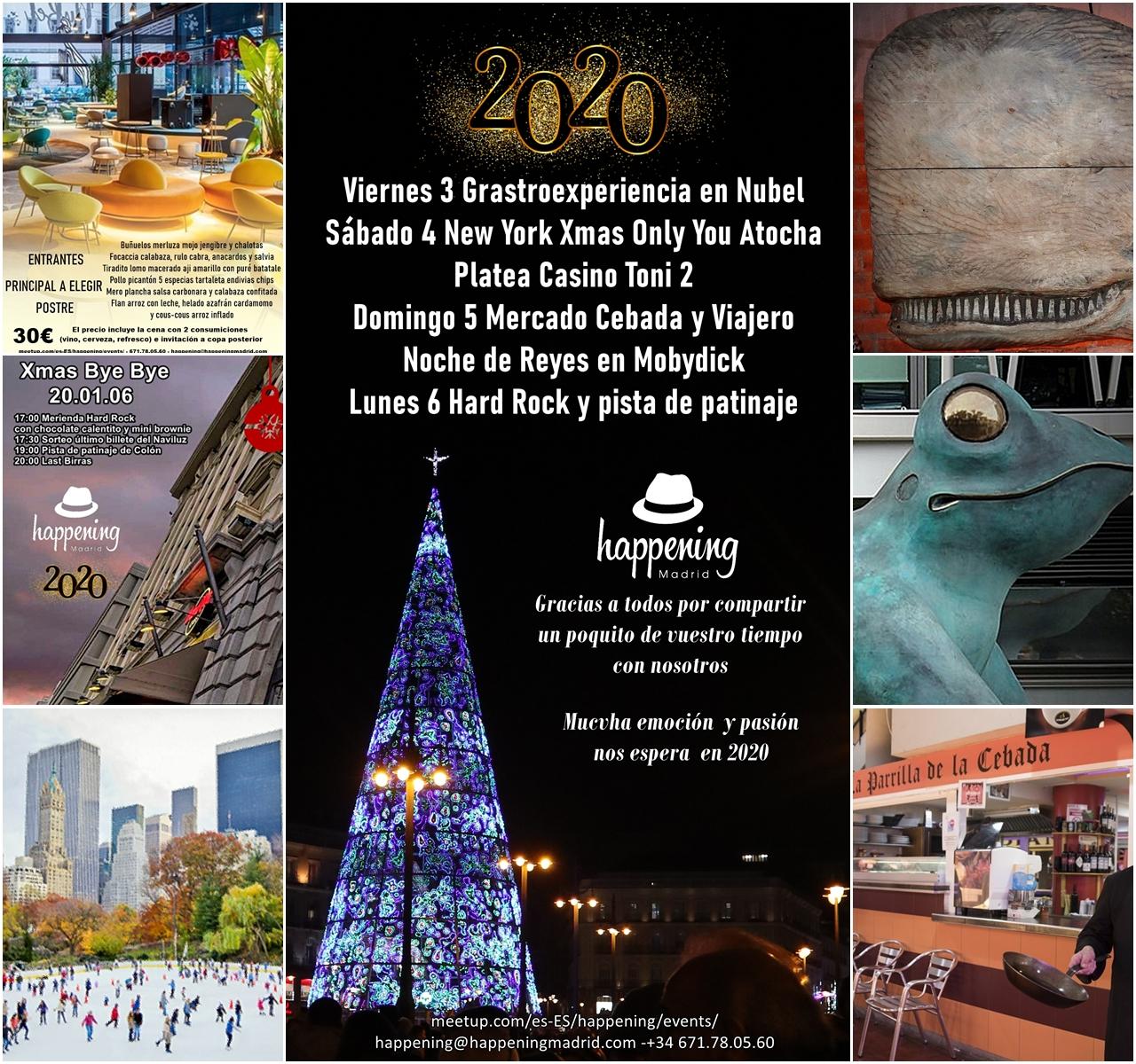 happening enero 2020 - Un buen comienzo para un fantástico 20-20