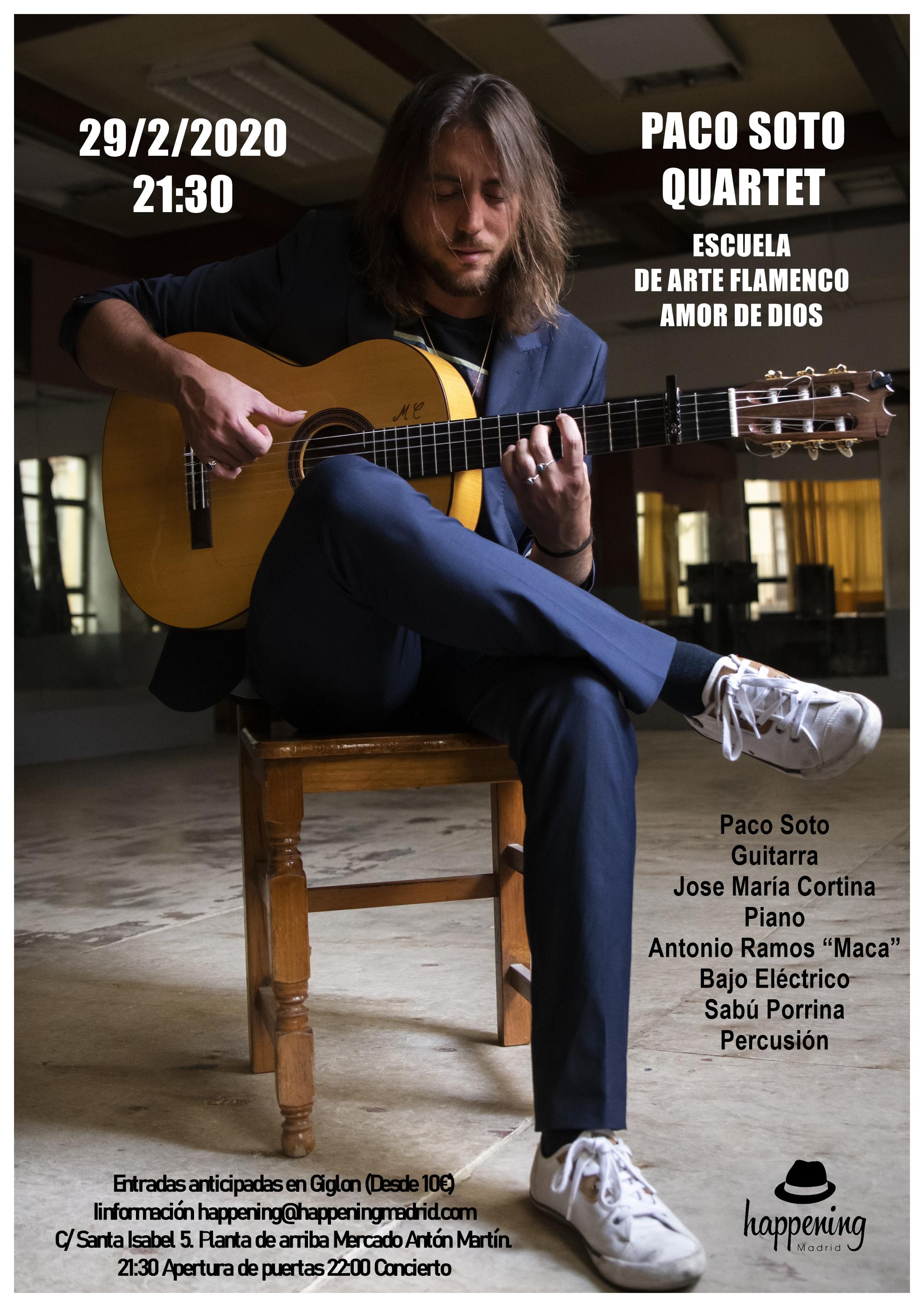 paco soto concierto 29 de febrero color - Un amor de experiencias desde Happening Madrid